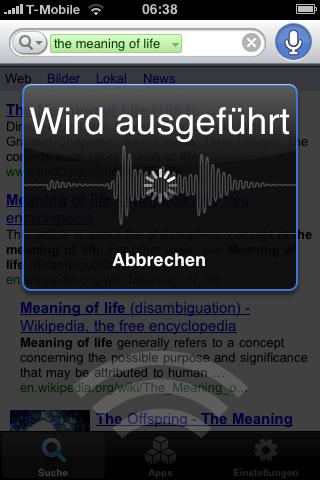 Google Mobile App Voice Search