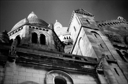 Sacre Coeur at Night