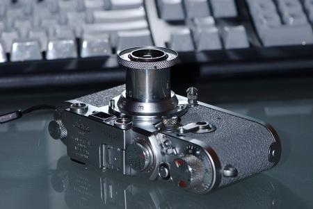 Leica IIIf RD ST In Grey Griptac