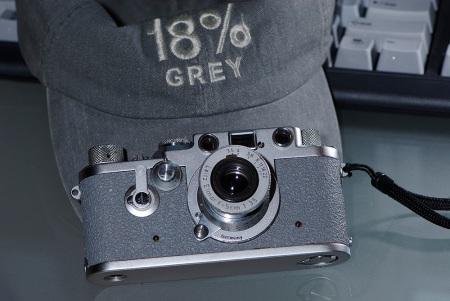 Grey Cap And Grey Leica IIIf