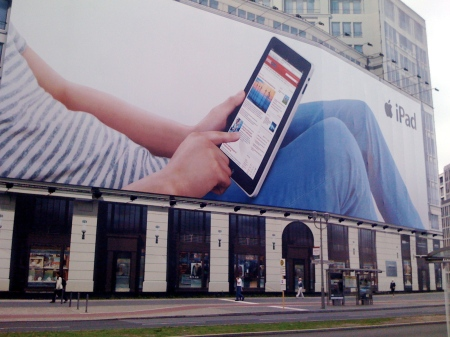 Giant Billboard at the Potsdamer Platz, Berlin