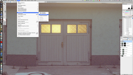 New Layer Mask showing only the Window in White