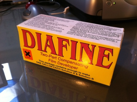 Diafine: time, temperature, film ... what the heck!
