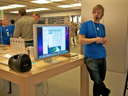 Christian, Workshop Instructor at the Hamburg Apple Store