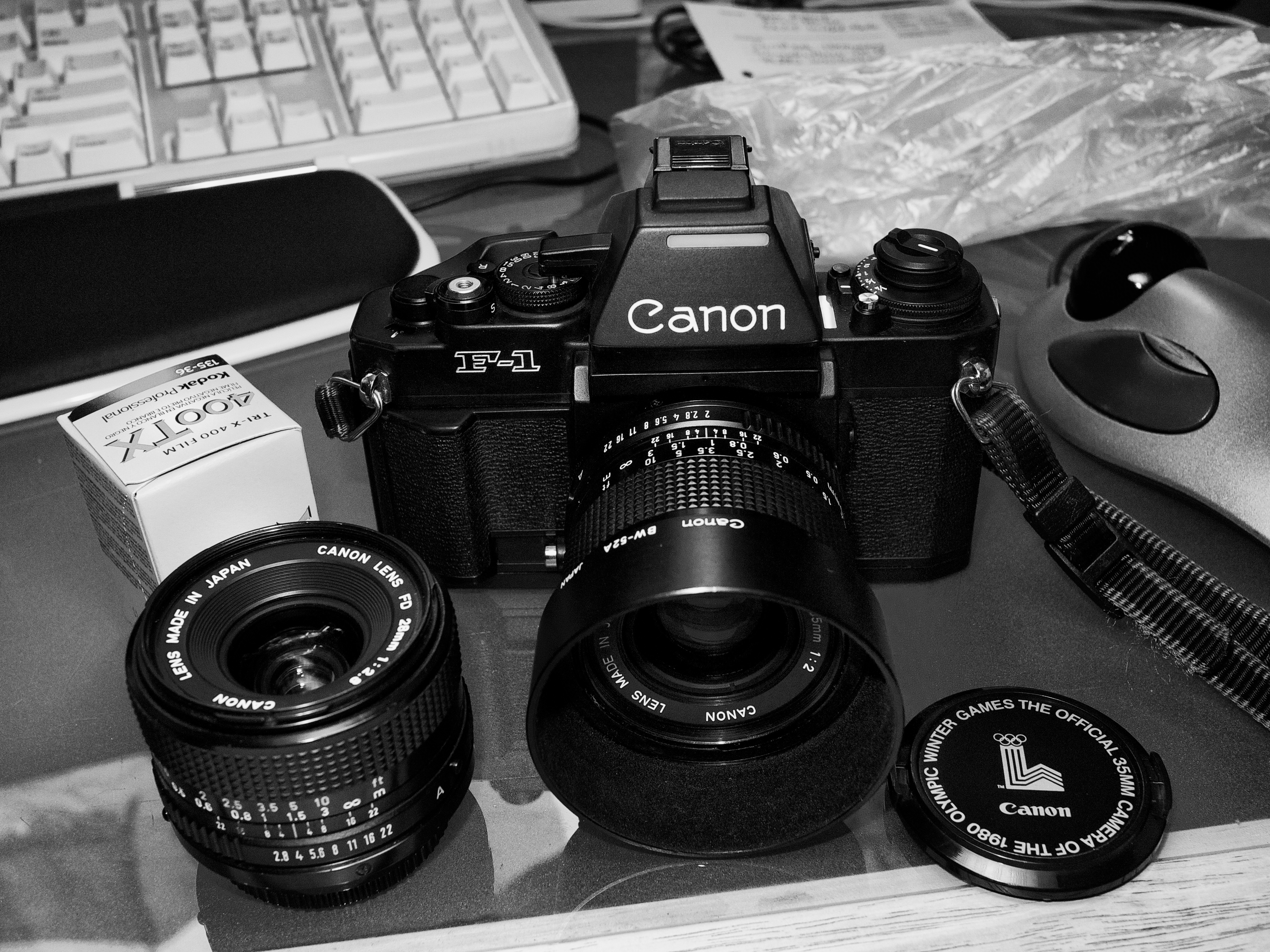 New to me Canon F1 New, Three Decades Young