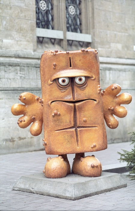 A popular german TV cartoon character that has warts ...