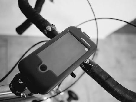 BioLogic handlebar mount for iPhone