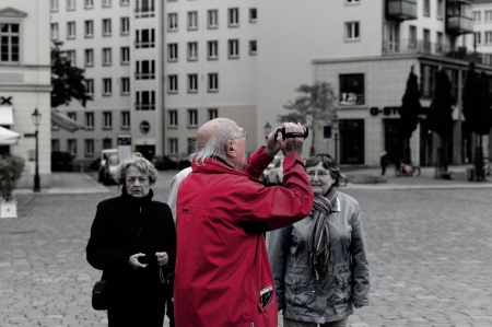 Dresden tourist, with the Summarit 75mm