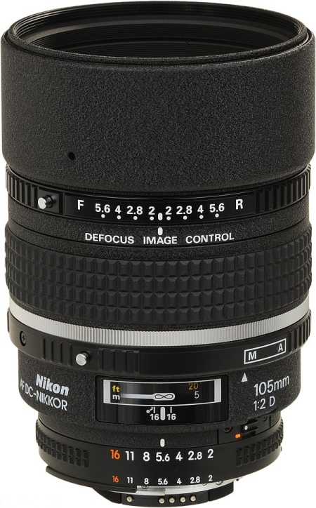 Unlike them, it has a defocus control ring (the DC in it's name).