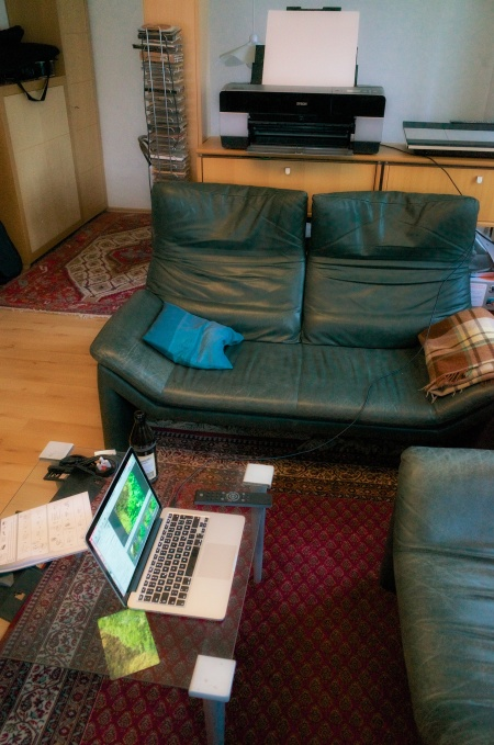 Living room digital darkroom