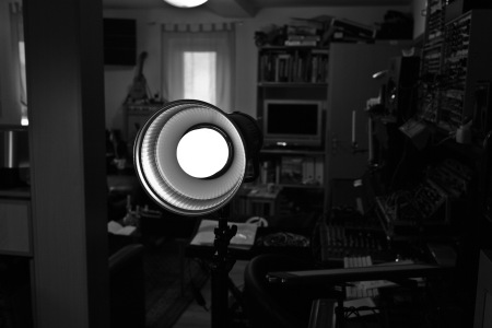 A zoom reflector