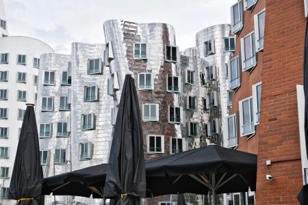 Frank Gehry houses, Medienhafen, Düsseldorf